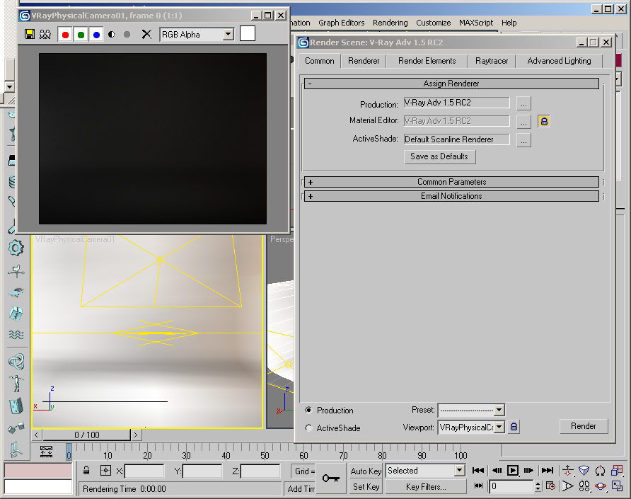 Simple Max Vray Render Scene Set-up « Perfect Visualization