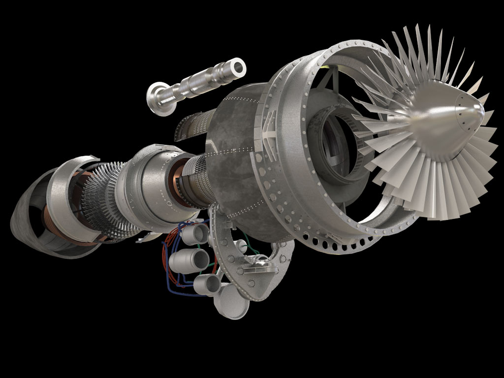 ge tf 34 perfect visualization \u2013 the perspectx blog TF34 Turbofan Engine